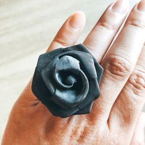 Nadri Metal Mesh Ring